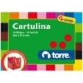 CARPETA CARTULINA DE COLORES 18 HJS 14 COLORES TOR
