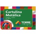 CARPETA CARTULINA METALICA 10 PLIEGOS COLORE TORRE