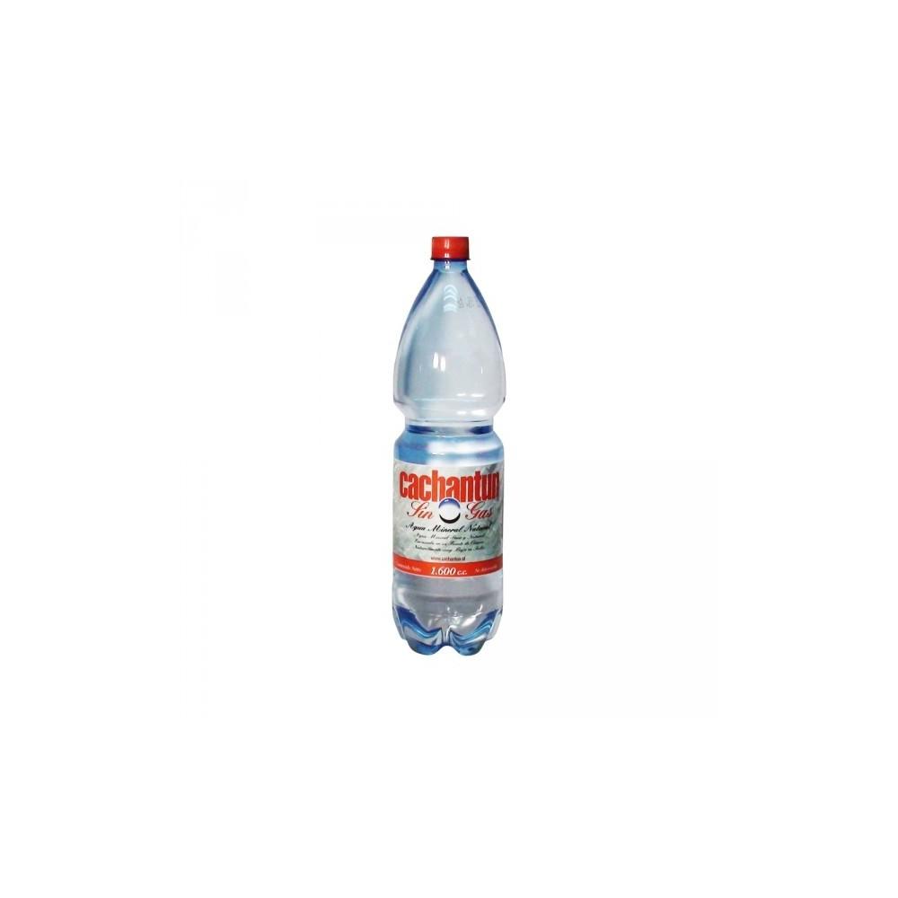 AGUA MINERAL SIN GAS 1.6 CC CACHANTUN