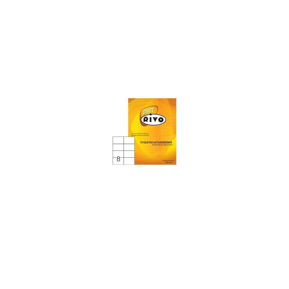 ETIQUETA RIVO 70 X 108 400 UND 50 HJS RC5008