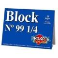 BLOCK DIBUJO N99 1/4 PROARTE